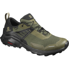 Salomon X Raise GTX Zapatillas Hombre, grape leaf/black/black